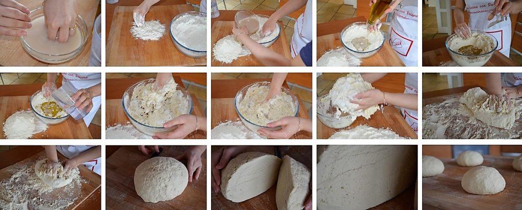 Preparazione pizza napoletana fatta in casa da daiana