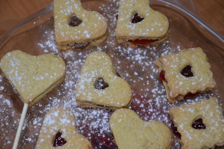 Biscotti di San Valentino alla pasta frolla