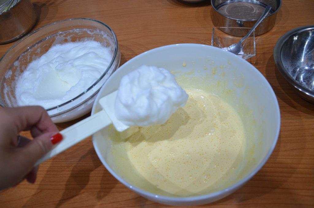 Tronchetto crema e fragole